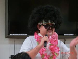 ハートランド三恵デイサービス誕生会の様子